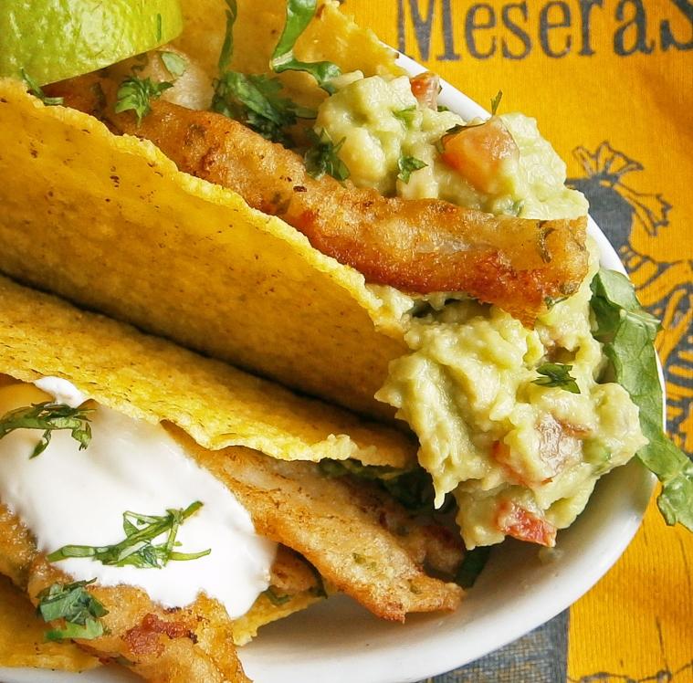Baja Califonia fish tacos
